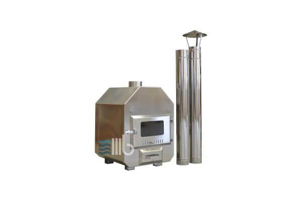 External stainless steel heater – BUCI