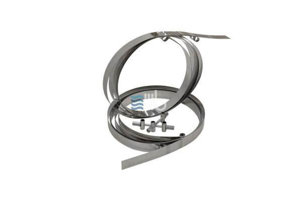Stainless steel tightening band – BUCI